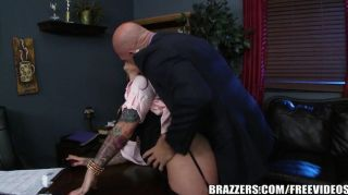 Brazzers - Darling Danika Loves Rough Office