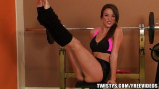 Workout Babe Malena Morgan Cums