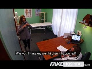 Fake Hospital - Hot Gymnast Takes A Cock