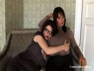 Marie Plays With Milena Velbas Monster Tits