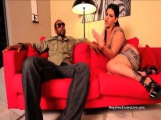 Big Titted Angelina Castro Pounded Hard By Big Black Cock!