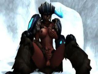Sejuani Futanari - League Of Legends Hentai Videos