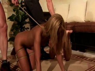Bound And Trained To Be Good Sex Slave