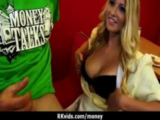 Amateur Chick Takes Money For A Fuck 7