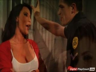 Lezley Zen Takes Care Of Police Officer
