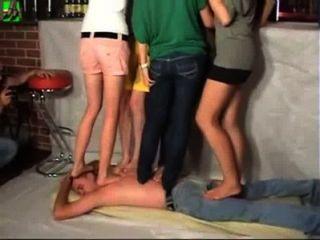 5 Girls Trampling