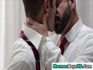 Mormon Elder Ass Anointed