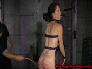 Bdsm Slave Emma Haize Ass Is Bright Red
