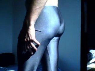 Lycra Spandex Shiny Leggings