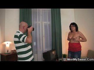 Perverted Old Couple Seduce Teen