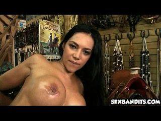 16 Sexy Latina Cowgirl Riding Cock 17