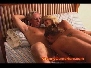 Granny And Grandpa Fuck Daughter And Son