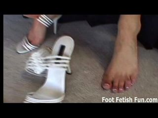 If You Are A Good Boy I Will Give You A Footjob