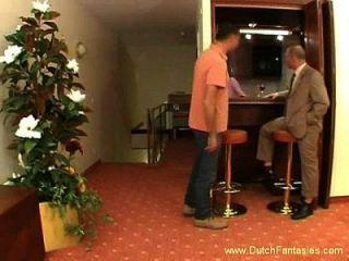 Milf From Netherlands Hotel Fuck