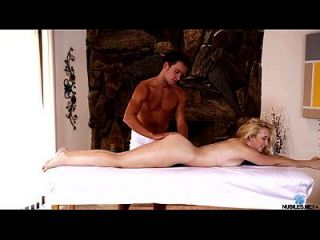 Massage And Creampie For Blonde Amateur