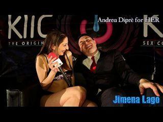 Jimena Lago Masturbates Herself With A Lollipop For Andrea Diprè