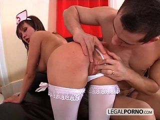 Horny Ass-gaping Nurse Fucked From Behind Nl-21-02