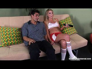 Accidental Creampie Gets Cheerleader Pregnant!