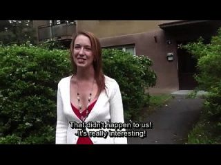 Cute Czech Girl Gets Licked And Fingered By Horny Cab Driver
