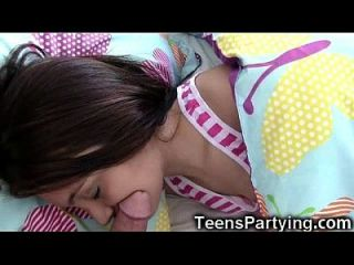Sleepover Surprise For Sleeping Teens!