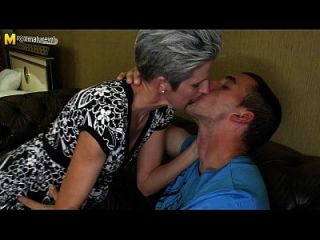 Skinny Mom Makes Love To Her Son