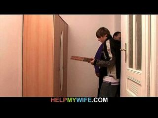 Delivery Boy Is Paid To Pound Young Wife