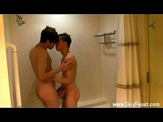 Xxx Gay Sleeping Home William And Damien Get Into The Shower Together