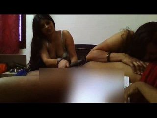 Hot Aunties Sucking One Lucky Guy Cock