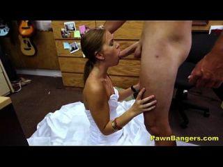 Shop Owner Obliges Young Bride In Revenge Sex