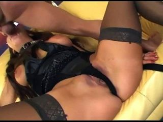 Fucking In Sheer Thigh High Stockings And Gloves