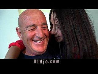 Still Potent Old Dude Fucking His Teenager Wife