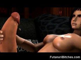 Biggest 3d Futanari Cocks And Cumshots!
