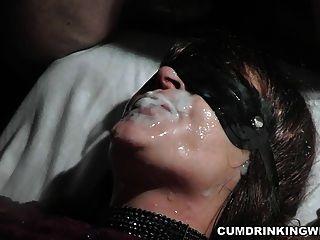 Amateur Slut Is The Cum Dump For The Entire Audience