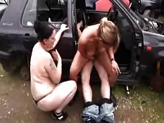 Daddy Fuck Mom And Teen Girl Outdoor