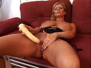 Horny Mature Blonde Masturbate And Fucked By Black Guy
