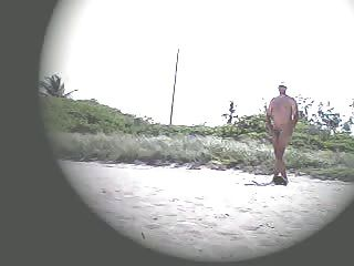 Exhibitionist Wife Lana Teasing At The Nude Beach!