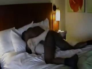 Husband Films Wife With Black At The Hotel