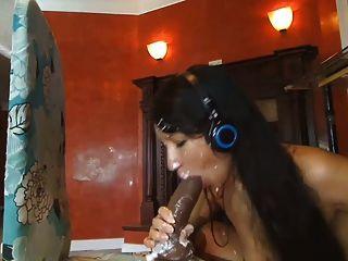 Webcam: 18 Year Old Latina Riding Dildo (no Sound)