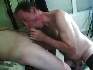 Sissy Husband Sucks Cock And Gets Fucked In Front Of Wife