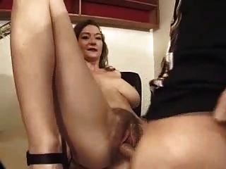 Hairy French Mom - Perfect Saggies