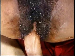 Short Curly Hair And Mega Hairy Pussy - Huge Cumshot