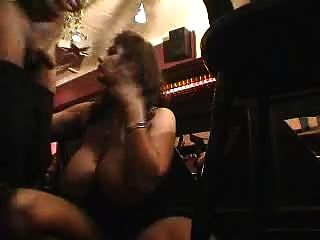 Big Tited Milf Gets Fucked In A Bar