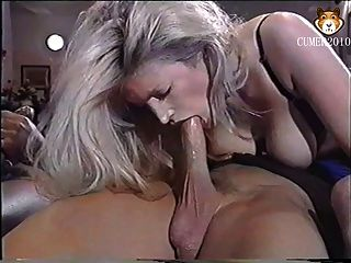 Blonde sperm swap