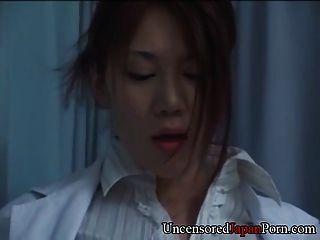 Japanese Nurse Fucking Doctor - Uncensored Japanese Hardcore