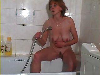 Hot Masturbation In Bathroom