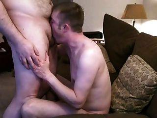 Chaser Fucks Long Hair Cub Swallow Cum