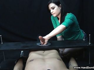 Brandi Uses A Big Long Cock For Her Pleasure