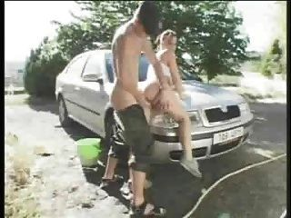 Mandy May Big Tit Car Wash