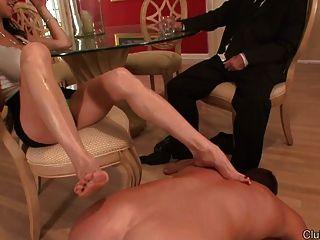 Foot slave cuckold I AM