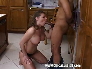Lonely Housewife Debuts In Porn Having A Big Black Cock